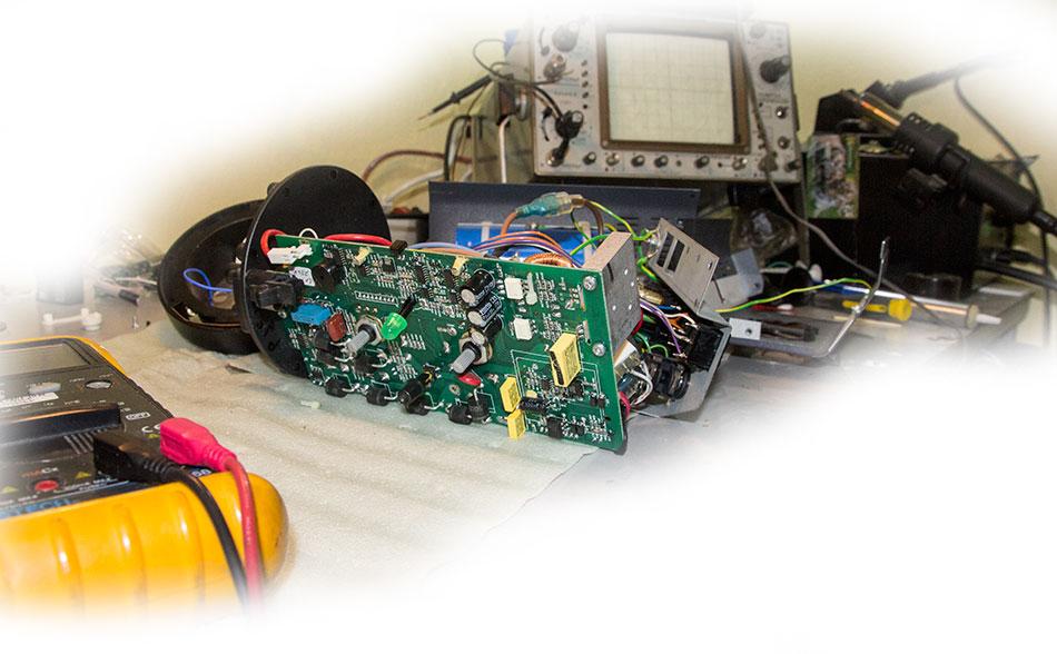 Схемотехника студийной вспышки Bowens GM500