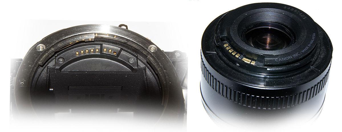 Демонтаж заклинившего объектива на Canon EOS