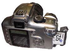 Ремонт фотоаппаратов,   неисправность и ремонт CF разъема