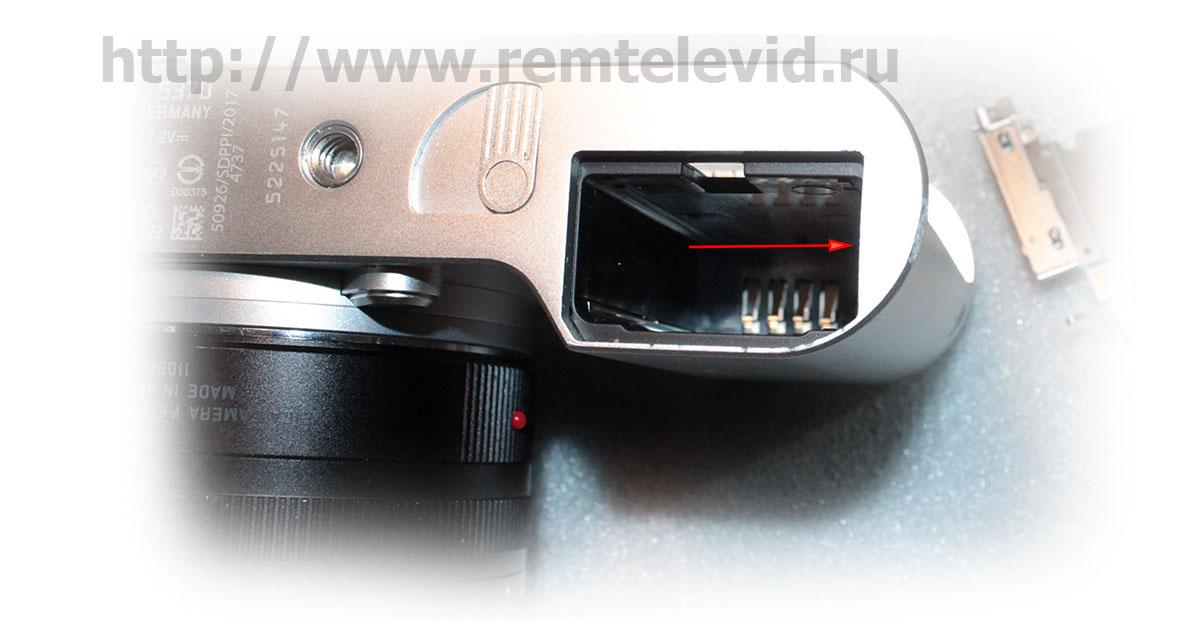 Ремонт корпуса фотокамеры Leica