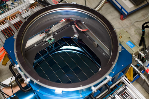Самая большая CCD матрица в мире