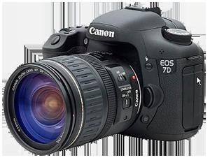 Ремонт фотоаппаратов Canon EOS 7D, основные неисправности сроки и цены