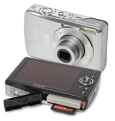 ремонт цифровых фотоаппаратов canon ixus 65 - ремонт объектива, вспышки, карты памяти, замена дисплея
