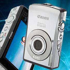 Ремонт фотоаппаратов Canon ixus 65 в Москве