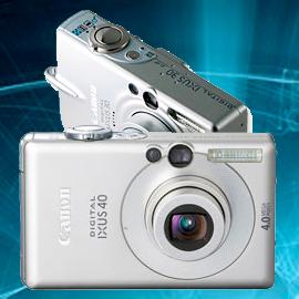 Ремонт фотоаппаратов Canon ixus 30, 40, 50 в Москве