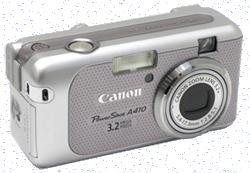 ремонт фотоаппаратов canon powershot a 430, a410 - ремонт объектива, вспышки, карты памяти, замена дисплея