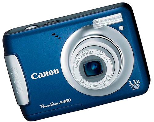ремонт цифровых фотоаппаратов canon powershot a480 - ремонт объектива, вспышки, карты памяти, замена дисплея