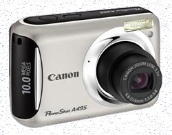 Профессиональный ремонт цифровых фотокамер canon powershot a495