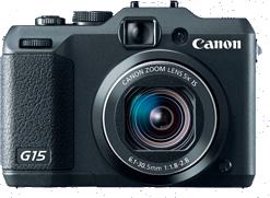 ремонт цифрового фотоаппарата Canon Powershot G15