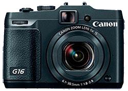 Ремонт фотоаппаратов Canon G16 в фотомастерской Ремтелевид-сервис выполняется в течении 1 - 3 рабочих дней