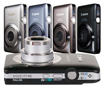 Устранение неисправностей в компактных цифровых фотоаппаратах Canon модели ixus 170, ixus 120 и стоимость ремонта