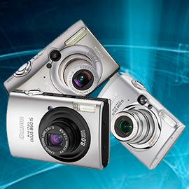 Ремонт фотоаппаратов Canon ixus 700, 750, ixus 800, 850, 860, canon ixus 900, 950, 960 в Москве