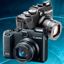 Ремонт фотоаппаратов Canon powershot G15