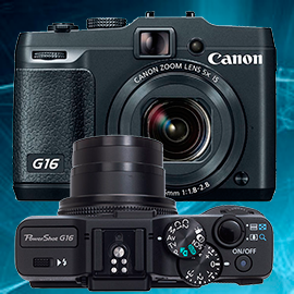 Ремонт фотоаппаратов Canon powershot G16