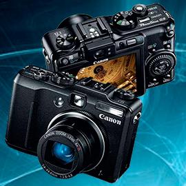 Ремонт фотоаппаратов Canon G-серии powershot g7, g9, g10, g11, g12
