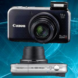 Ремонт фотоаппаратов Canon powershot SX210 в Москве