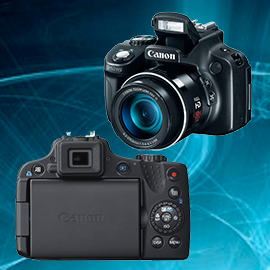 Ремонт фотоаппаратов Canon powershot SX50 в Москве