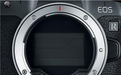 Затвор фотокамеры Canon EOS R