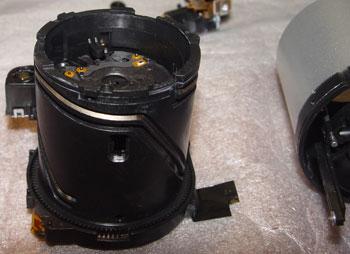 неисправность и ремонт затвора в фотоаппаратах