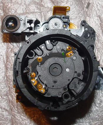 ремонт механизма затвора и диафрагмы в фотоаппаратах