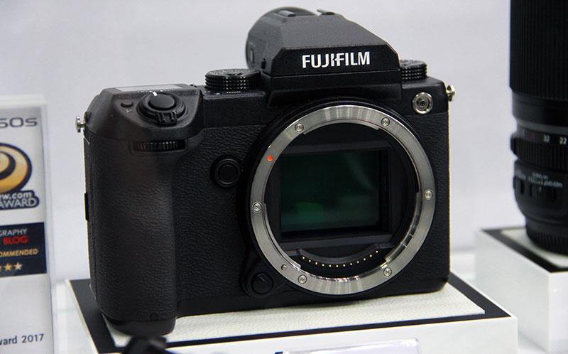 Фотоаппарат среднего формата от Fuji - GFX50s