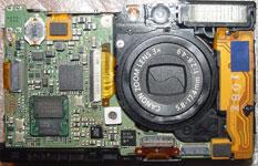 Ремонт фотоаппаратов Canon ixus