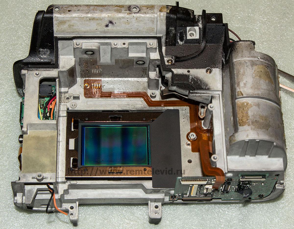 Чистка матрицы и ремонт зеркальных фотоаппаратов Nikon D3
