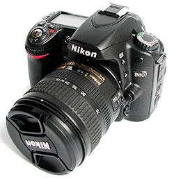 Ремонт зеркальных фотокамер nikon d80