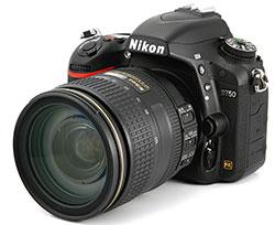 Ремонт зеркальных фотокамер nikon d750 в Москве