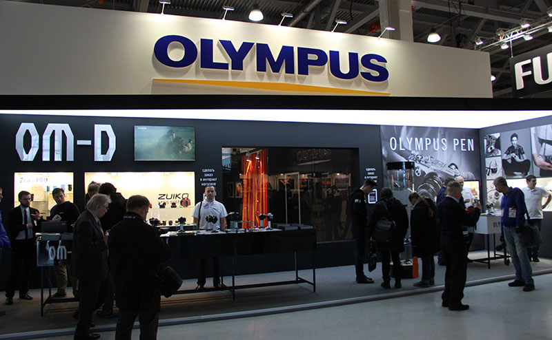 Олимпус на фотофоруме в Крокус-сити