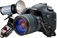 Профессиональный ремонт цифровых, зеркальных фотоаппаратов, объективов, вспышек, фототехники