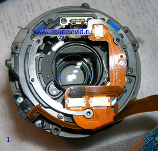 ремонт фотоаппарата сони