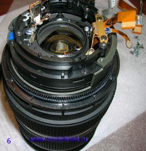 ремонт объективов зеркальных фотокамер Сони