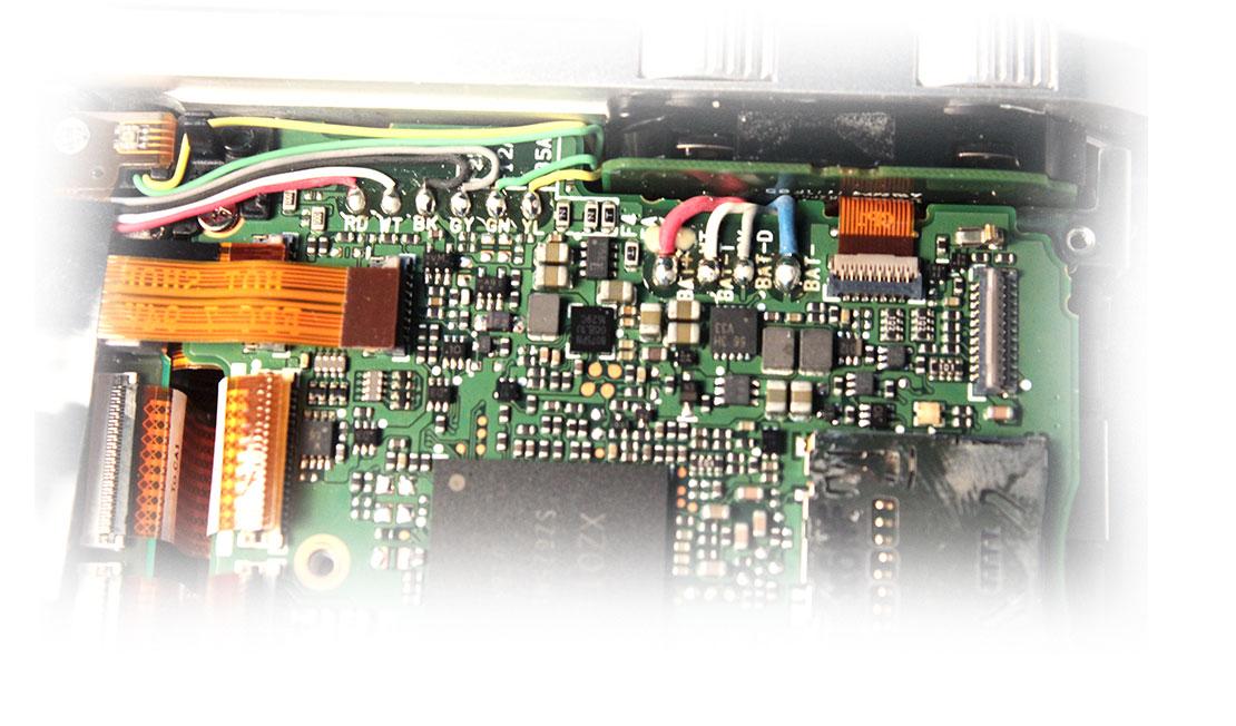 номиналы и расположение интегральных предохранителей фотокамеры Leica TL2 type 5370