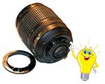 Профессиональный ремонт объективов Nikon
