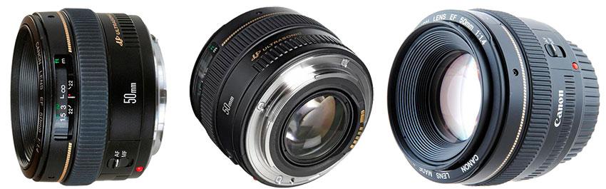объективы Canon EF 50 mm f/1.4 USM, ремонт автофокусировки