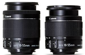 Ремонт объективов Canon 18-55 в фотомастерской Ремтелевид-сервис