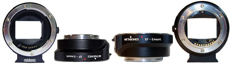 Metabones EF-E mount адаптер-переходник для объективов Canon EF на камеры Sony