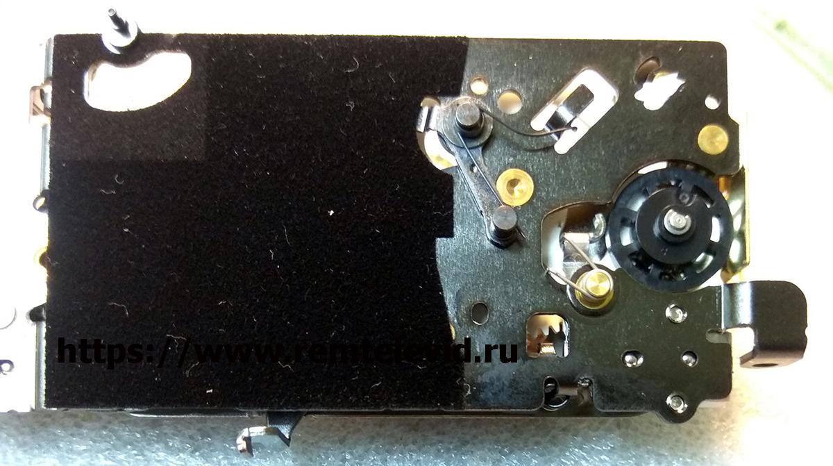 Привод зеркала и механизм управления диафрагмой фотоаппарата Nikon D4