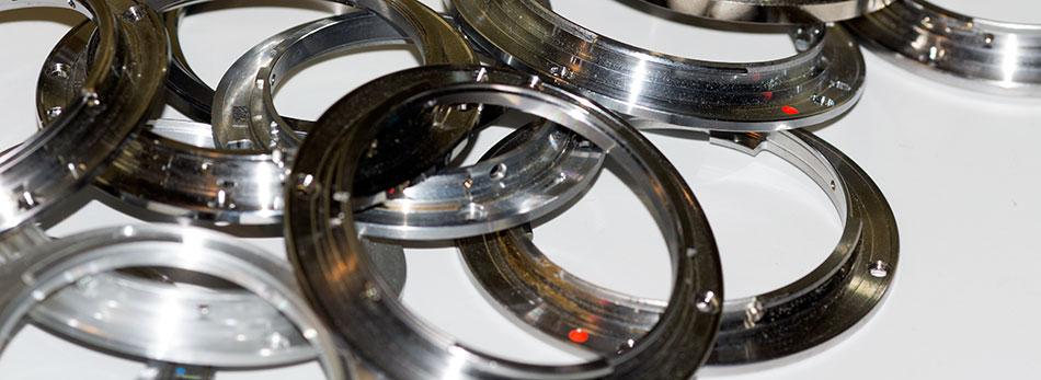 Металлические байонет объективов для зеркальных фотоаппаратов