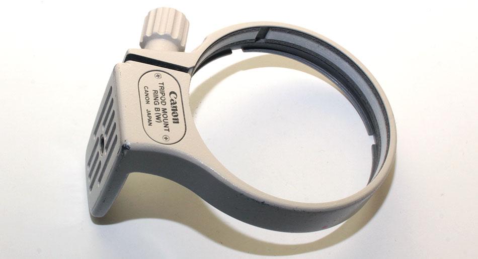 Штативное кольцо Canon tripod mount ring b w