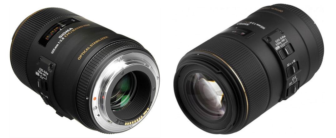 Разборка объектива Sigma 105mm F2.8 DG Macro HSM