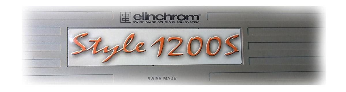 Студийная вспышка Elinchrom style 1200s