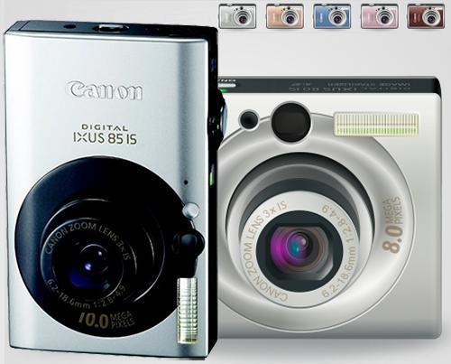 Фотоаппараты Canon ixus 80, Canon ixus 85 - ремонт объектива, вспышки, карты памяти, замена дисплея