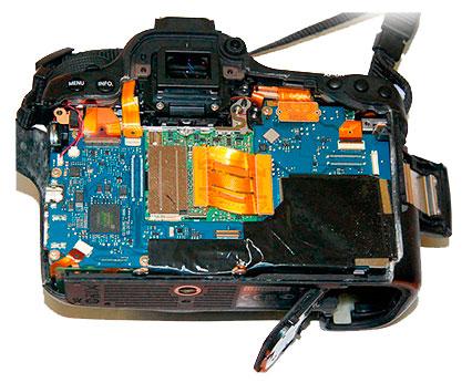 Ремонт системной платы в Canon EOS 6D, 60D, 600d основные неисправности сроки и цены