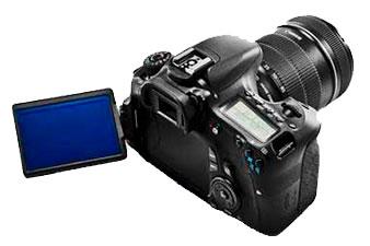 Замена дисплея в фотоаппаратах Canon 6D, 60D, Canon 600D, ремонт поворотного механизма