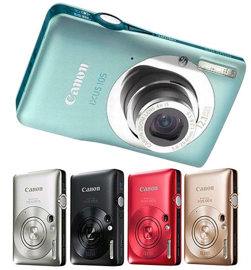 Фотоаппараты Canon ixus 100, Canon ixus 105 - ремонт объектива, вспышки, карты памяти, замена дисплея
