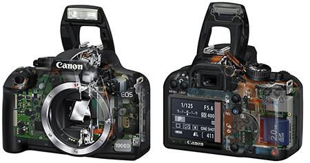 Ремонт фотоаппаратов Canon EOS 1000D, основные неисправности сроки и цены