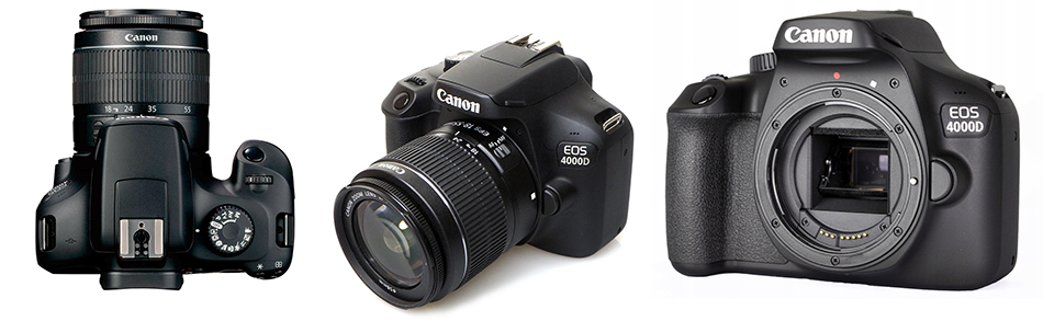 Ремонт фотоаппаратов Canon EOS 4000D, неисправности сроки ремонта и цены