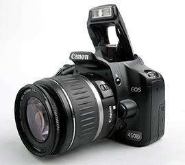 Ремонт зеркальных фотоаппаратов Canon EOS 450D, неисправности сроки ремонта и цены